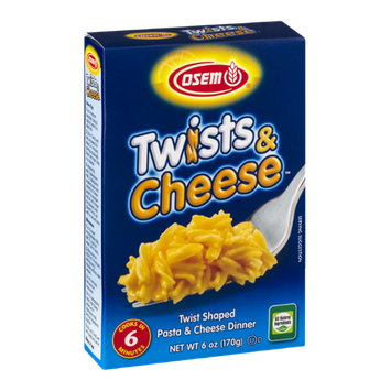 Osem Twists & Cheese Pasta & Cheese Dinner