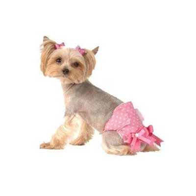 Max's Closet Pink Solid Fancy Pants for Dogs