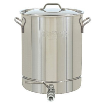 Barbour International Bayou Classic Stainless Stockpot with Spigot - 10 Gal.