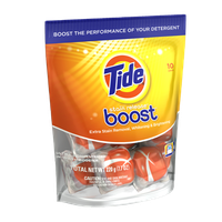 Tide Stain Release Duo Pac In-Wash Booster 10 Count?