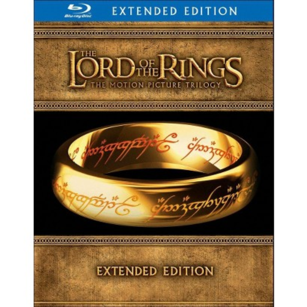 New Line Home Video New Line Lord Of The Rings-trilogy [blu-ray/extended Ed/15 Disc/3pk/ws-16x9]