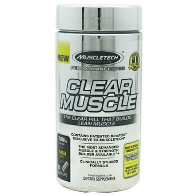 Muscletech Products - Clear Muscle Performance Series - 84 Liquid Capsules