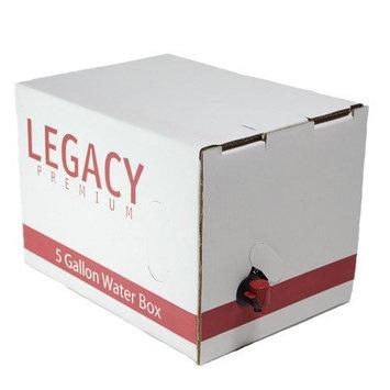 Legacy Premium Food Storage Emergency 5-Gallon Water Supply Box - Stackable Prepper Storage Gear