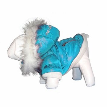 Pet Life Metallic Ski Parka