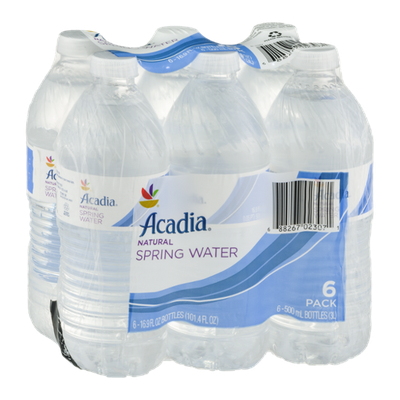 Ahold Acadia Natural Spring Water