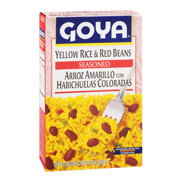 Goya Yellow Rice & Red Beans Seasoned