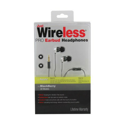 Just Wireless Headset - Black (08043)