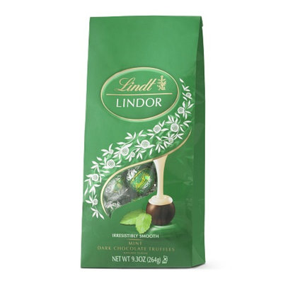 Lindt Lindor Mint Dark Chocolate Truffles
