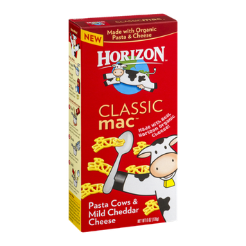 Horizon Classic Mac Pasta Cows & Mild Cheddar Cheese