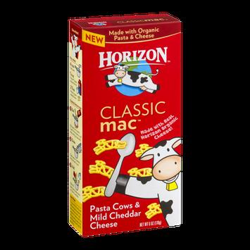 Horizon Classic Mac Pasta Cows & Mild Cheddar Cheese