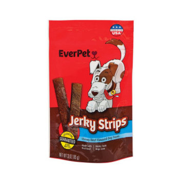 Everpet EverPet Jerky Strips Dog Treats, 3 oz