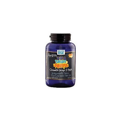 Health From the Sun A+ DHA Squirts Kids Omega-3 Orange Flavor - 90 Softgels, 2 Pack (image may vary)