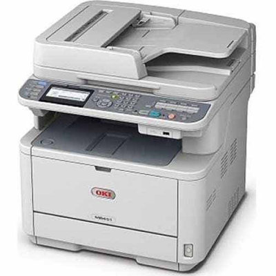 OKI Data OKI MC362w Wireless Color LED Multifunction Printer - 25 ppm Black, 23 ppm Color, Print, Copy, Scan, Fax, Ethernet Netwo