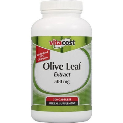 Vitacost Brand Vitacost Olive Leaf Extract - Standardized -- 500 mg - 300 Capsules