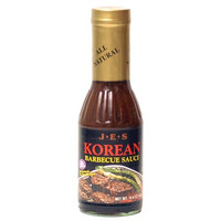 JES Korean Barbecue Sauce, 14.6-Ounce Bottle (Pack of 3)