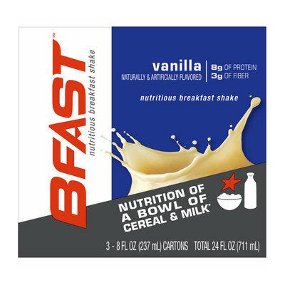BFast Vanilla Nutritious Breakfast Shakes