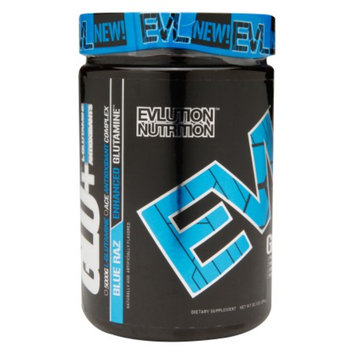 Evlution Nutrition GLU+ Enhanced Glutamine Blue Raz
