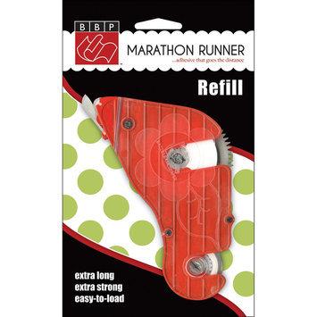Bazzill 303909 Marathon Permanent Adhesive Refill-5-16 in. x 100ft