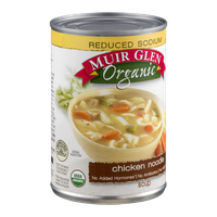 Muir Glen Organic Reduced Sodium Soup Chicken Noodle