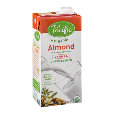 Pacific Organic Unsweetened Almond - Vanilla