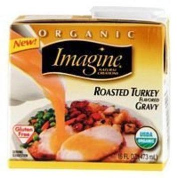 Imagine Foods Organic Roasted Turkey Gravy 16 Ounces (Case of 12)