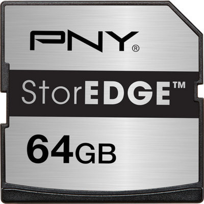 PNY StorEDGE 64 GB Secure Digital Extended Capacity (SDXC)