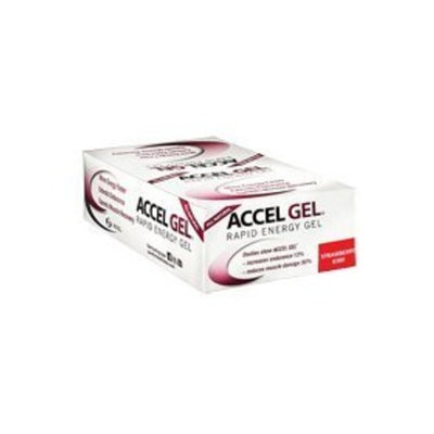 Accelerade Accel Gel - 24 Pack-Strawberry/Kiwi