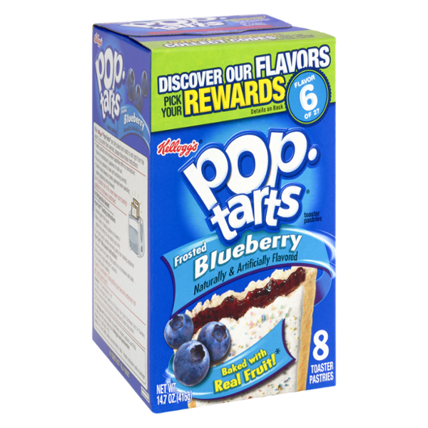 Kellogg's Pop-Tarts Frosted Blueberry Flavor