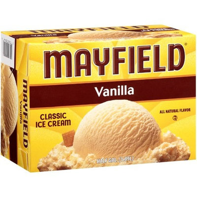 Mayfield: Vanilla Classic Ice Cream, 12 Gal