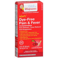 Walgreens Infant Pain/Fever Reducer, Dye Free, Cherry, 2 fl oz