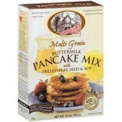 Hodgson Mill Multigrain Buttermilk Pancake Mix with Flax Seed & Soy -- 16 oz