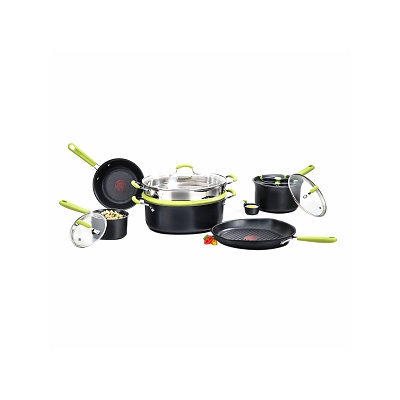 T-Fal E870SA64 Balanced Living 10-Piece Cookware Set