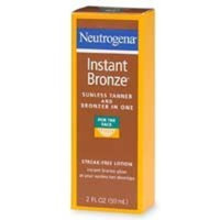 Neutrogena® Instant Bronze Sunless Face Tanner And Bronzer