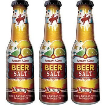 Twang Beer Salt, Lemon Lime, 1.4oz Bottles, 3-pack