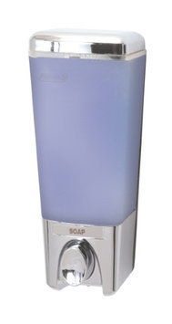 Hold N Storage Clear Shampoo Dispenser 72144 by Better Living Chrome - Bathroom Accessories