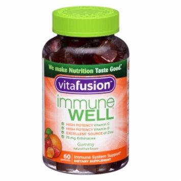 Vitafusion Immune Well Natural Fruit 60 Gummies