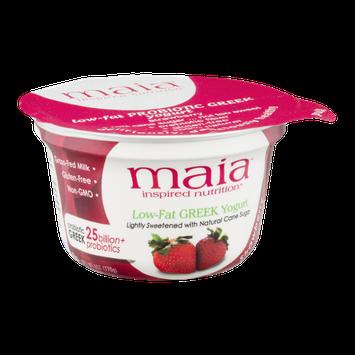 Maia Inspired Nutrition Non-Fat Greek Yogurt Strawberry