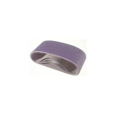 3M 3m 4inch X 24inch P120Y Grade Purple Regalite Resin Bond Cloth Belts 81433 - Pack of 5