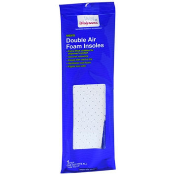 Walgreens Men's Double Air Foam Insoles