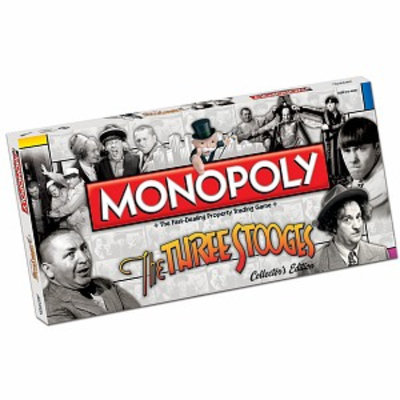 USAopoly Monopoly Three Stooges Edition Ages 8+, 1 ea