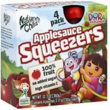Nature's Child Nickelodeon Squeezers 4 Pack Nature's Child Nickelodeon Dora Applesauce Squeezers (12 of 4pack)