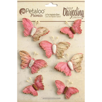 Regal Imports, Inc. Wild Butterflies 7/Pkg Fuchsia