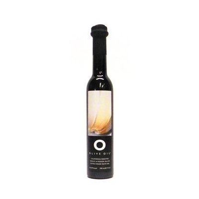 Gourmet Goods To You O Roasted Garlic & Mission Olives Extra Virgin Olive Oil, 8.5 oz