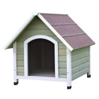 Trixie Nantucket Dog House - Gray/White - Large