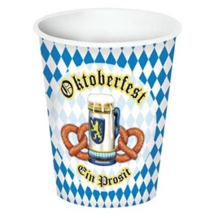 Beistle - 58207 - Oktoberfest Beverage Cups- Pack of 12