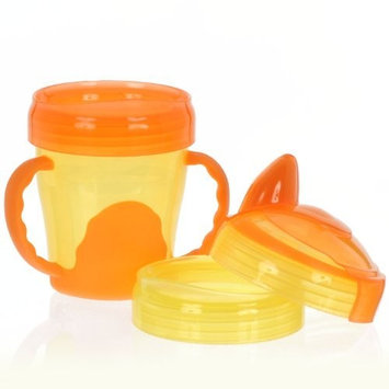 Vital Baby 3 Stage Trainer Cup, Orange, 7 Ounce