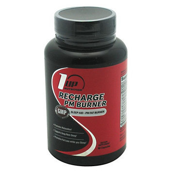 1 Up Nutrition 8810013 Recharge Pm Fat Burner 60 Capsules