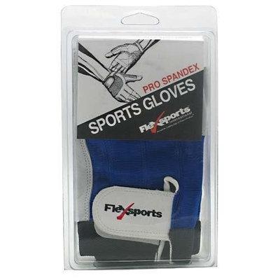 Flexsports International Pro Spandex Sports Gloves Blue Large L