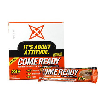 Come Ready 24g Protein Bar with Whey Isolate Cookies & Cream