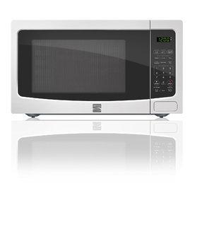 Kenmore White 1.1 Cubic Foot Kenmore Countertop Microwave - MIDEA USA, INC.